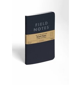 Field Notes Pitch Black Notebooks