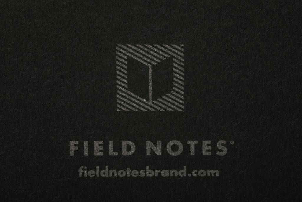 Field Notes Field Notes Pitch Black Notebooks