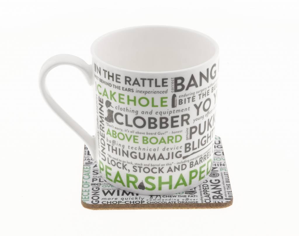 Victoria Eggs Army Slang Mug