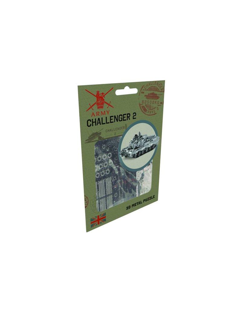 Metal Puzzle Challenger 2 Tank