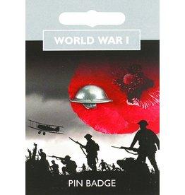 Tommy Helmet Pin Badge
