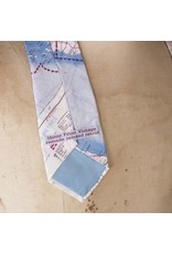 Home Front Vintage Escape and Evade Silk Map Tie