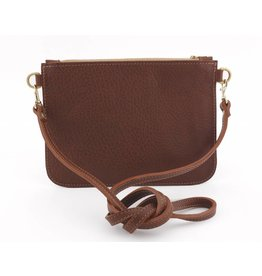 Home Front Vintage Esme Leather Clutch