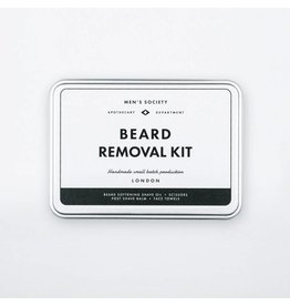 Men's Society Beard Removal Kit