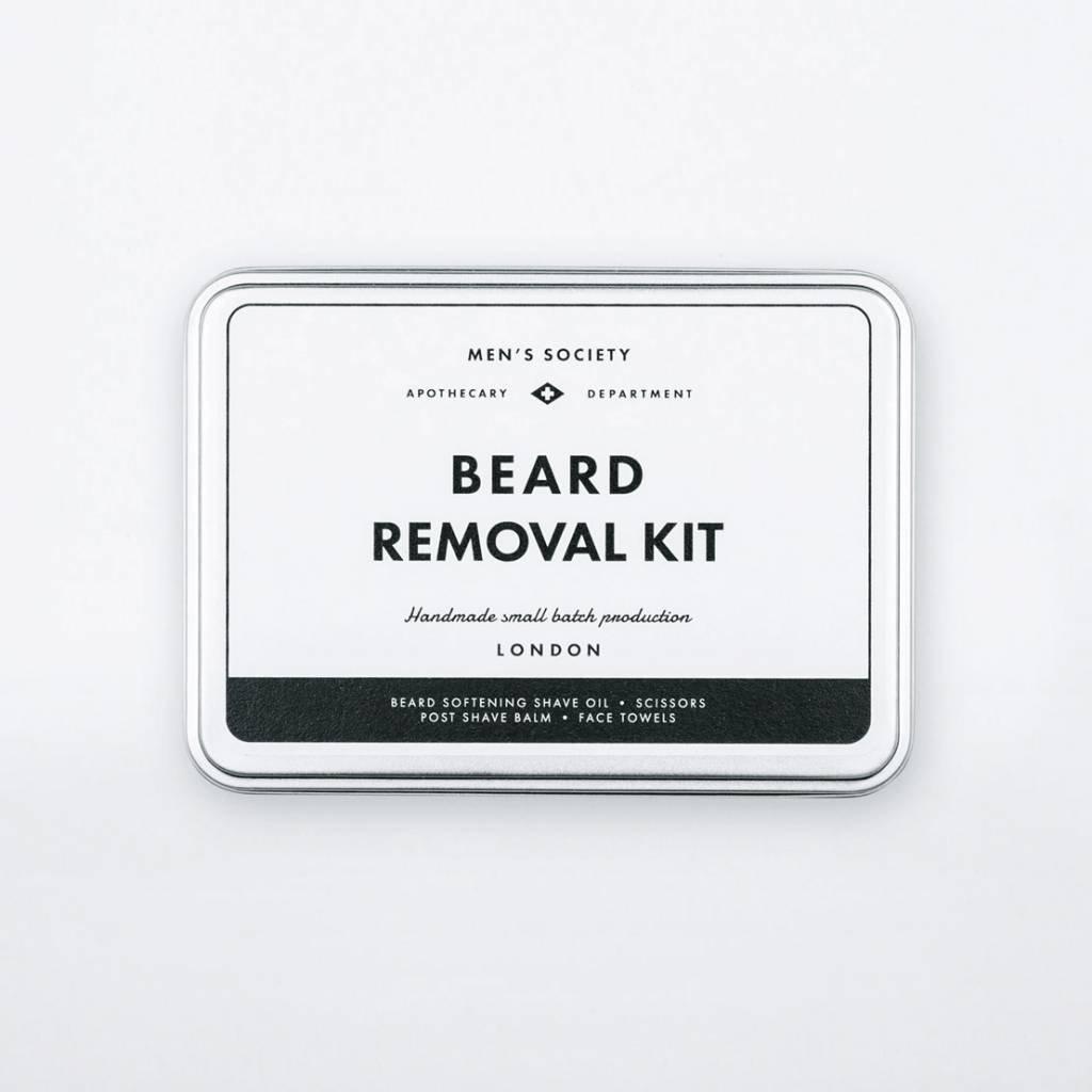 Men's Society Men's  Society Beard Removal Kit