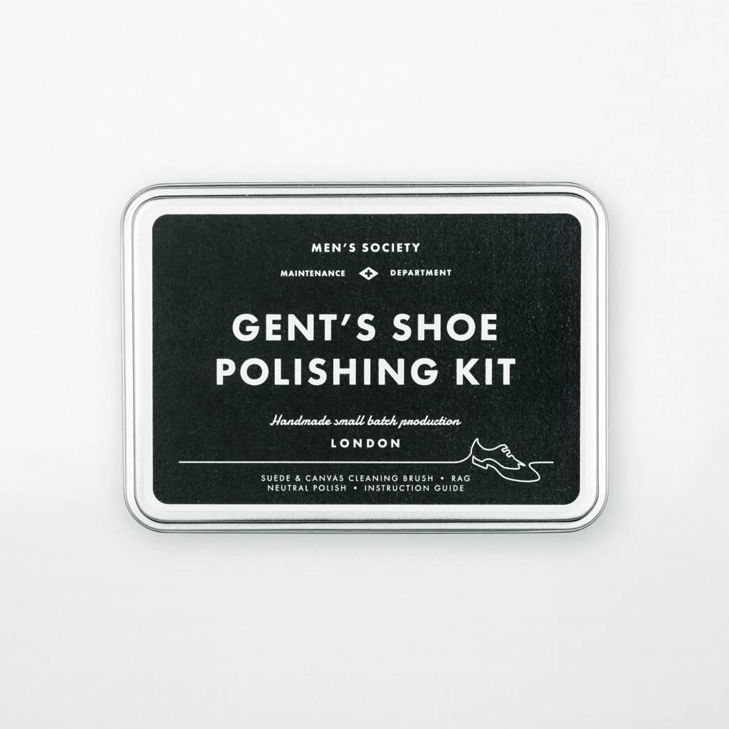 Men's Society Men's  Society Gents Shoe Polishing Kit