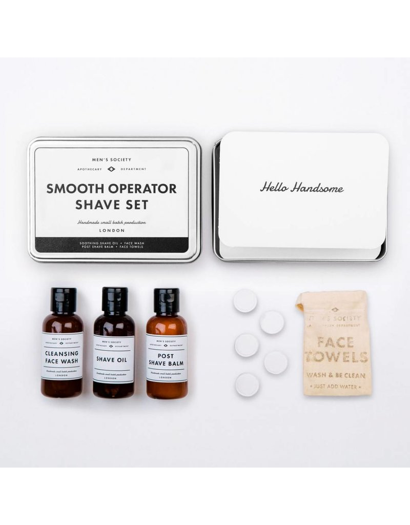 Men's Society Men's Society Smooth Operator Shave Set