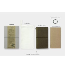 Traveler's Company Notebook Olive