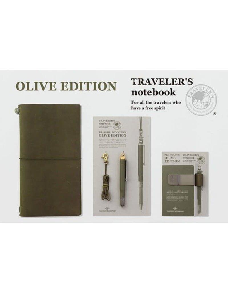 Traveler's Company Notebook Olive Edition LTD EDT