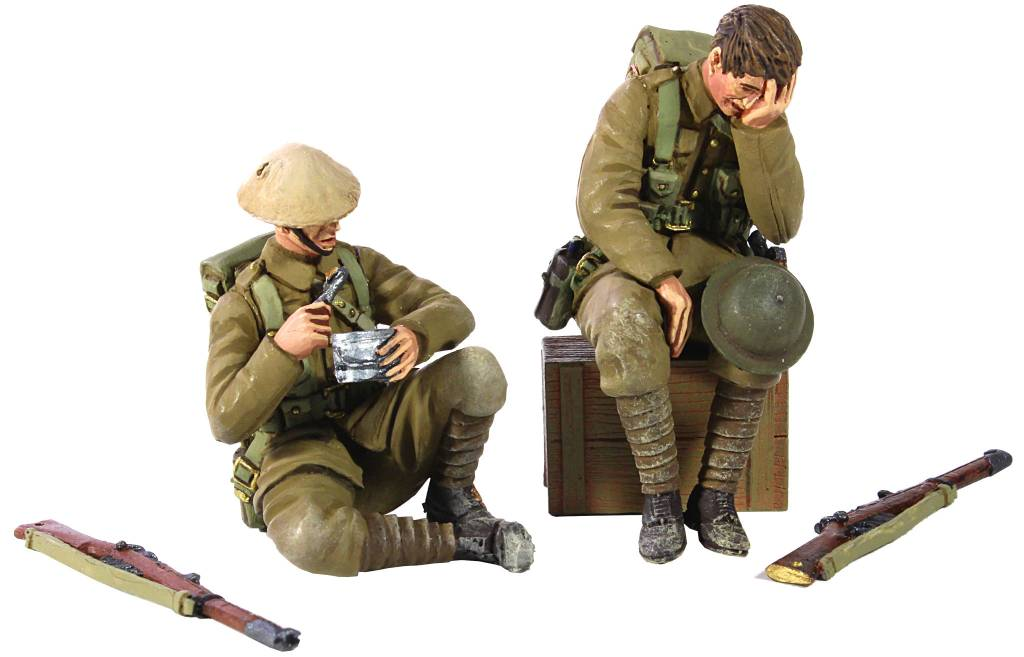 W Britain: Life in the Trenches 5 piece set