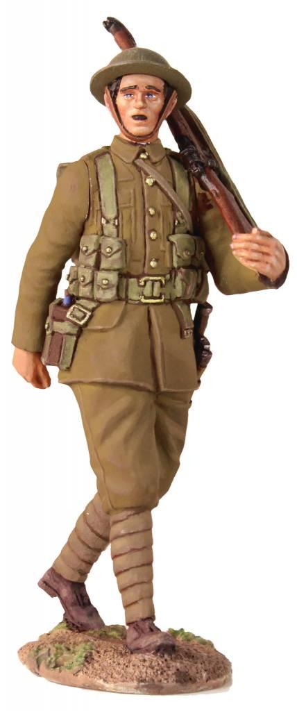 W Britain: 1916 British Infantry Marching