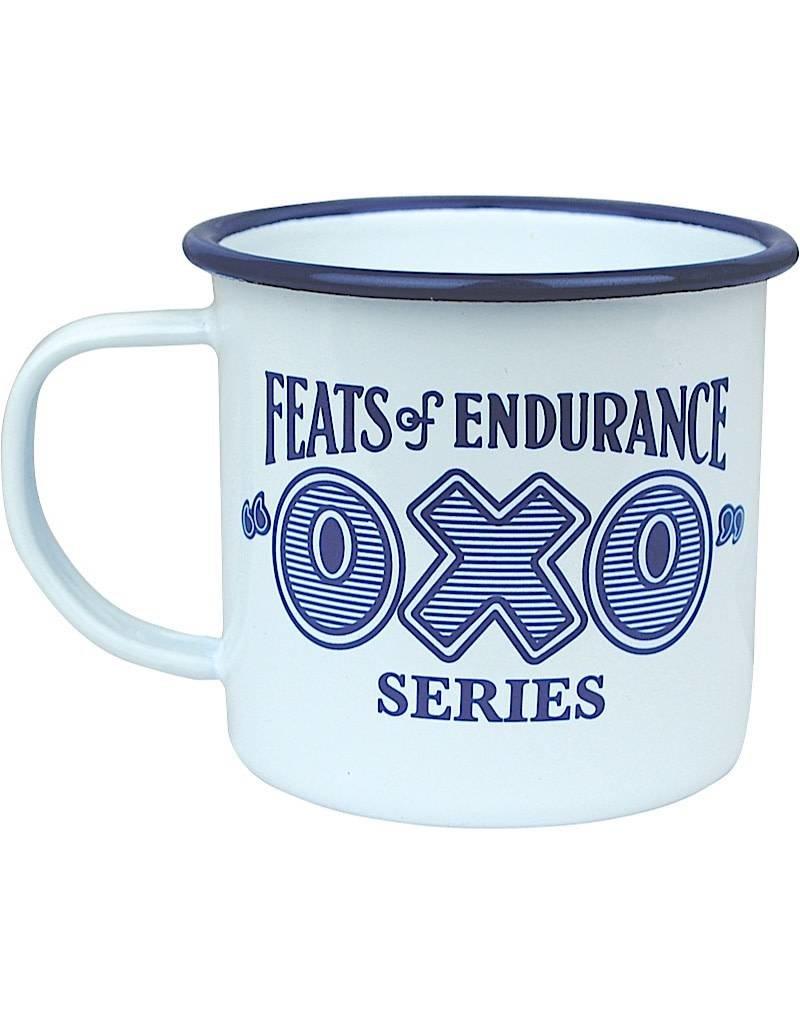 Feats of Endurance Oxo Enamel Mug