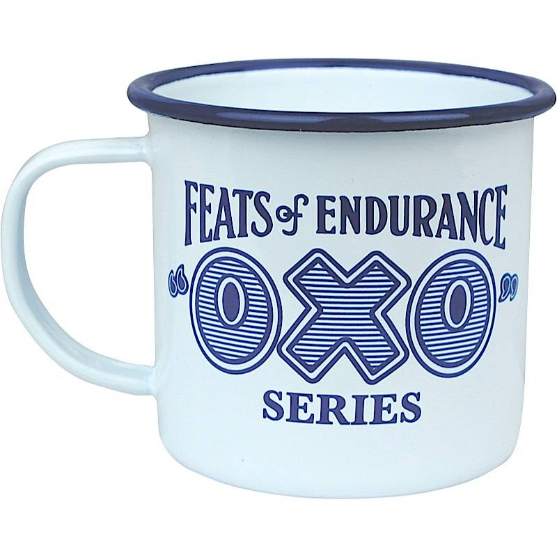 Feats of Endurance Oxo Enamel Mug