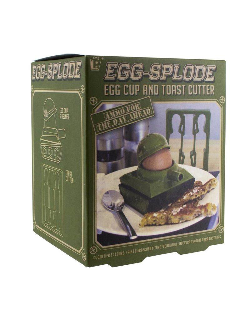Egg-Splode Tank Egg Cup
