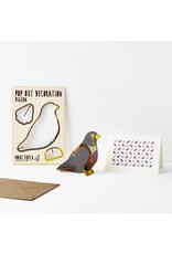 Pop Out Pigeon Card