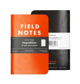 Field Notes Expedition Waterproof Notebooks