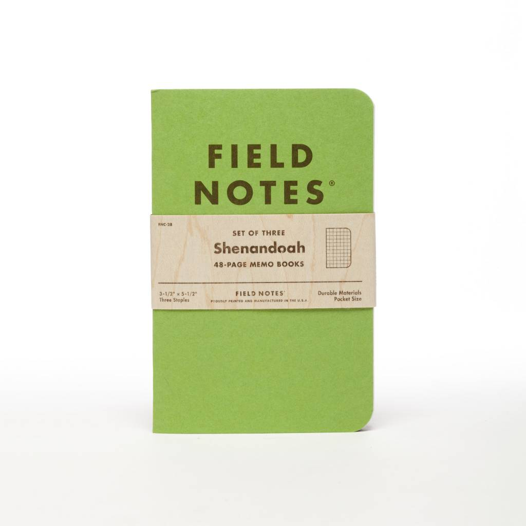 Field Notes Field Notes Shenandoah Notebooks