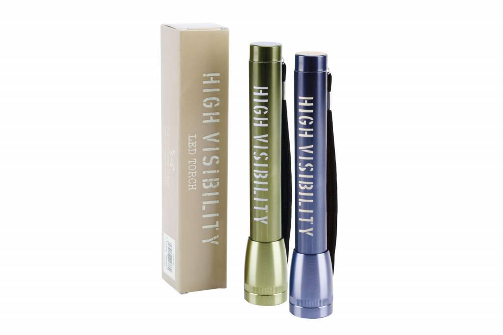 High Visibility Assorted Green & Blue Torch