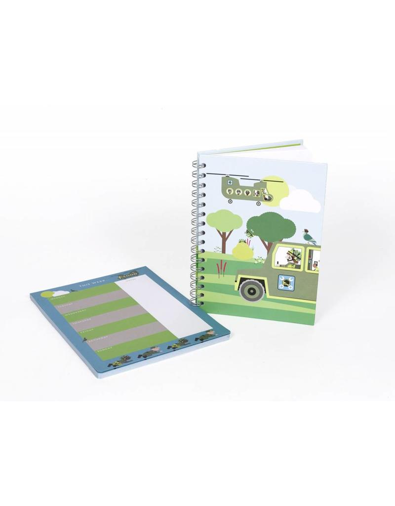 National Army Museum 'Play Base' Hardback Notebook