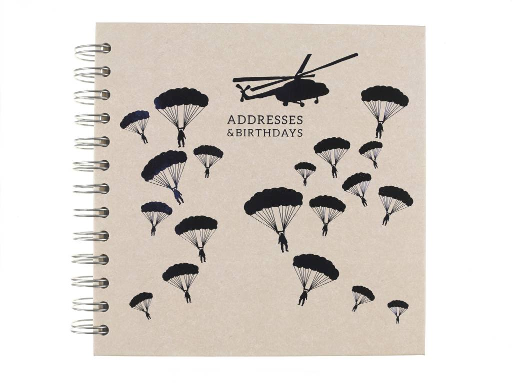 National Army Museum Helicopter Address Book