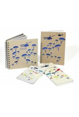 National Army Museum Helicopter Foil Notebooks (2 pack)