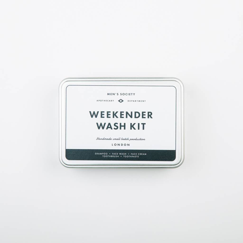 Men's Society Men's  Society Weekender Wash Kit