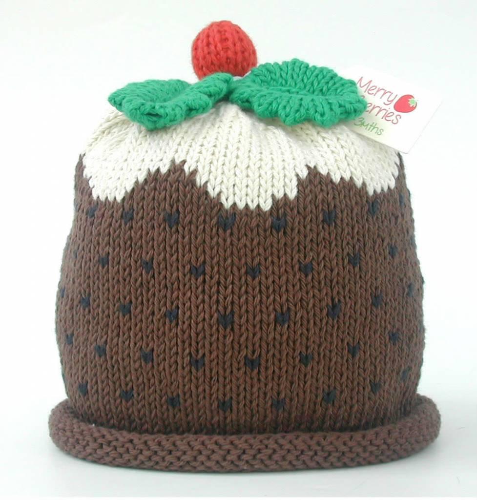 Christmas Pudding Hat