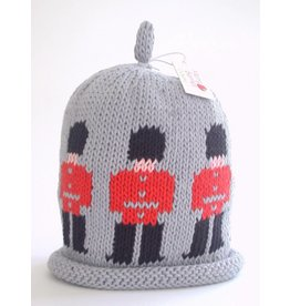 Guardsman Knitted Hat Grey