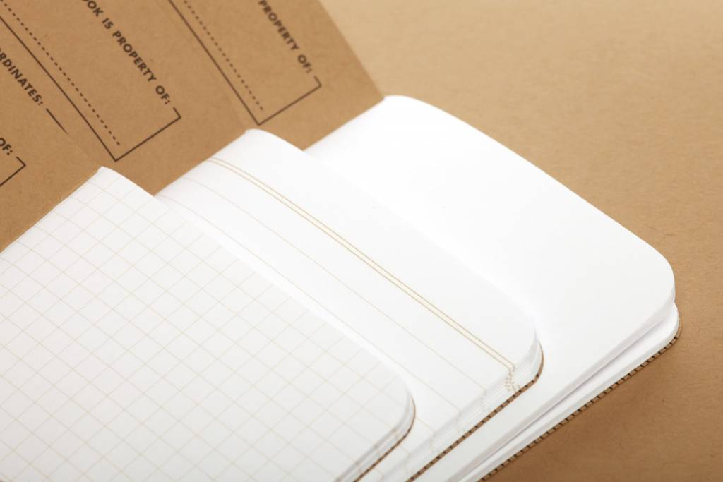 Field Notes Original Notebooks 3-pack