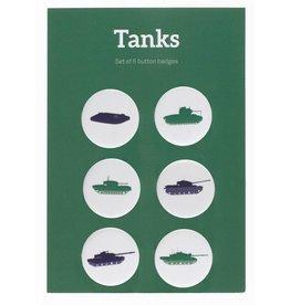 Tanks Pin Badges