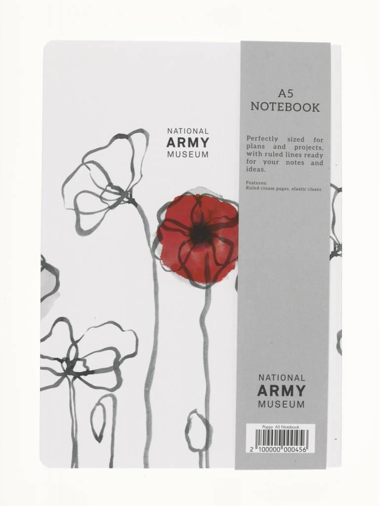 Field Poppy Notebook