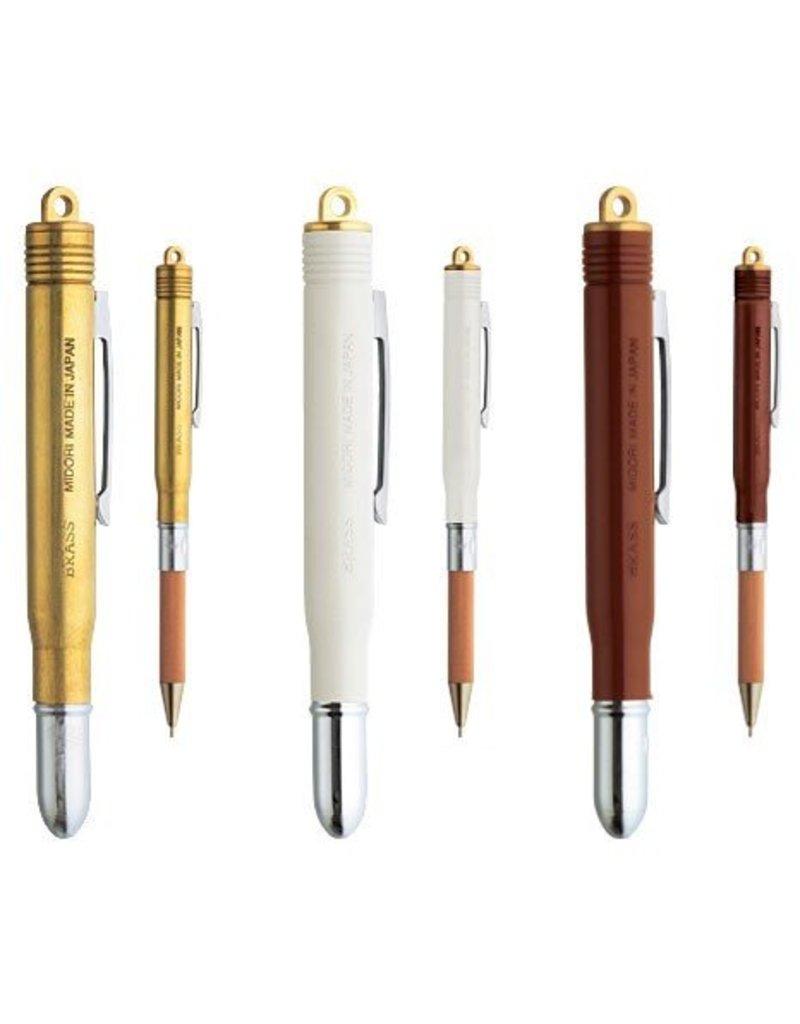 Traveler's Company Brass Bullet Pen