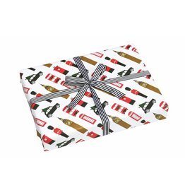 London Christmas Wrapping Paper