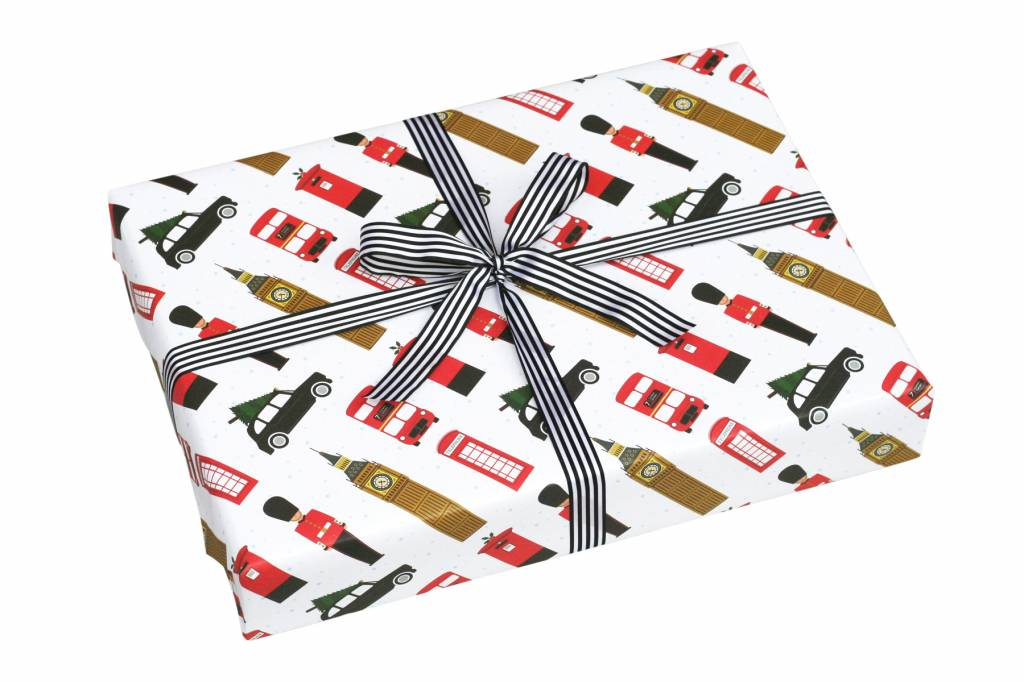 Nancy & Betty London Christmas Wrapping Paper