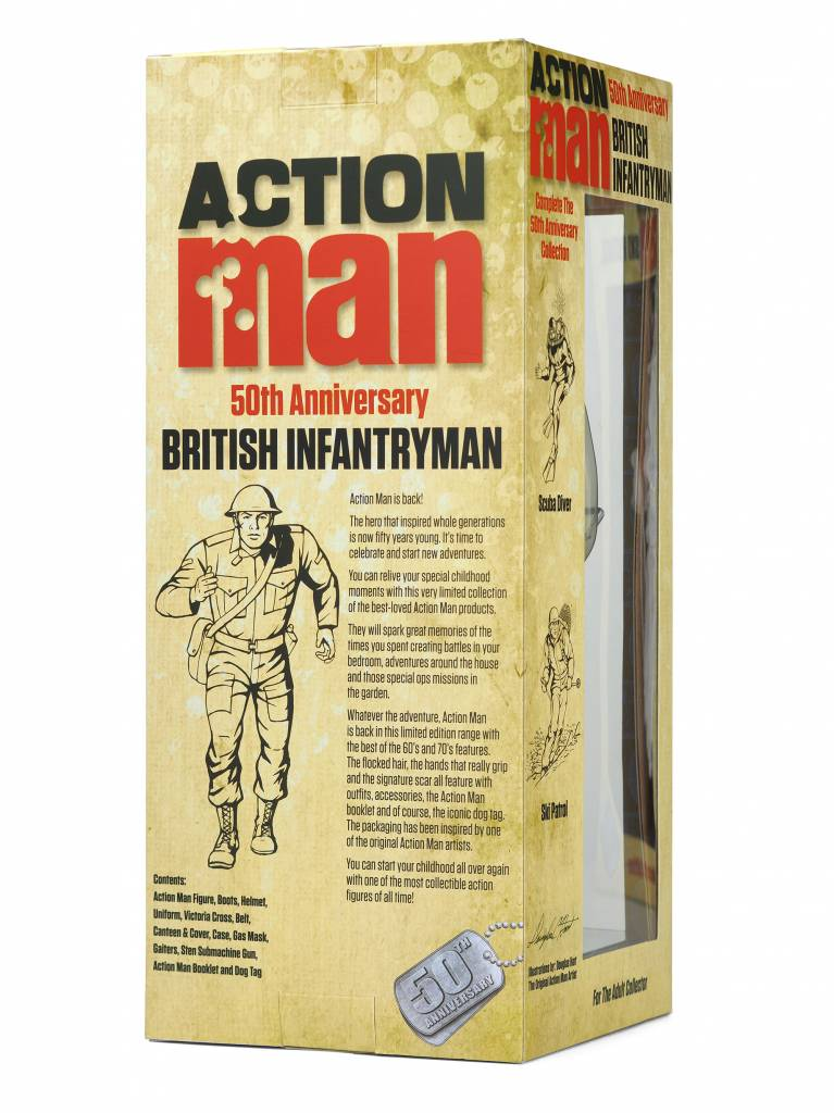 Action Man 50th Anniversary British Infantryman