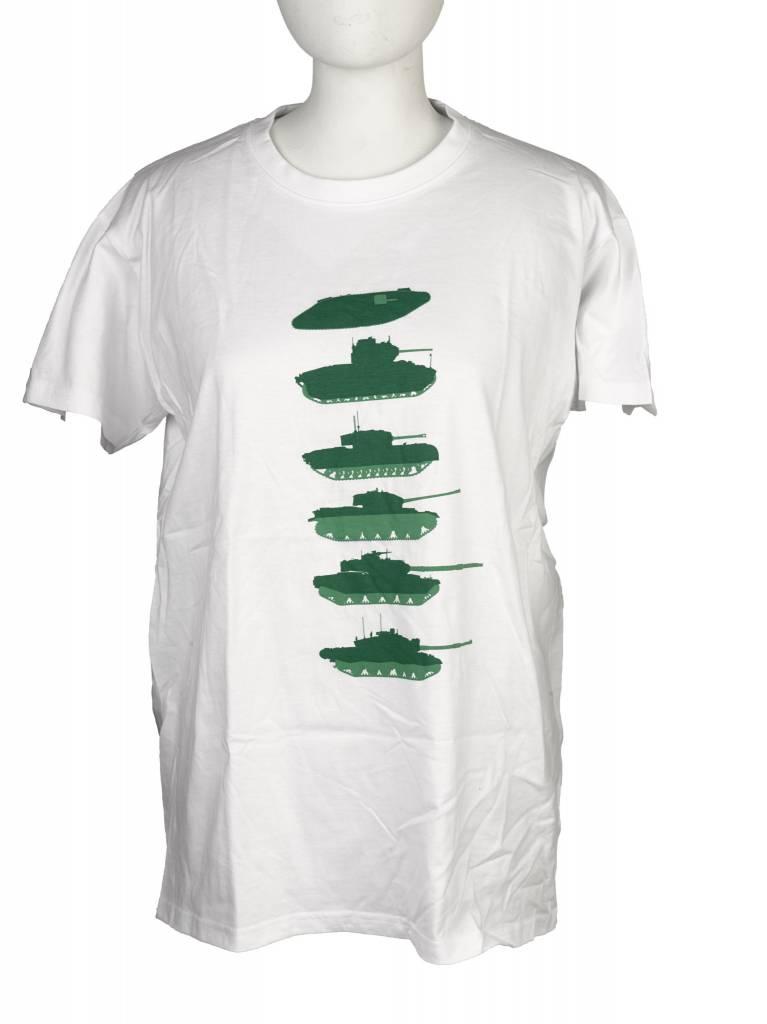 Tanks Tshirt Green