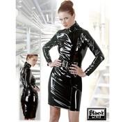 Black Level Lak jurk met riem