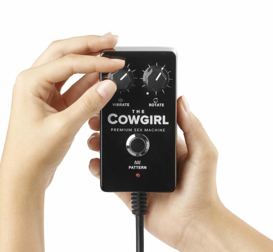 The Cowgirl - Premium Riding Seks Sybian Machine Zwart