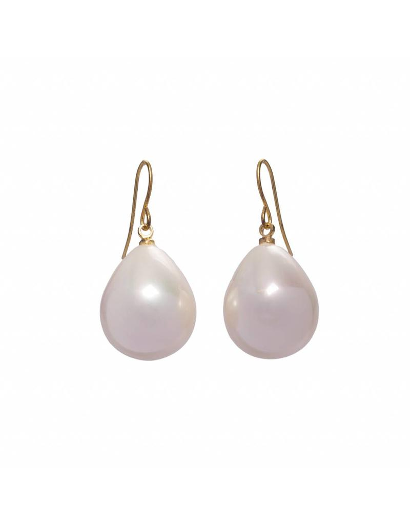 Pearl Earrings gold plated
