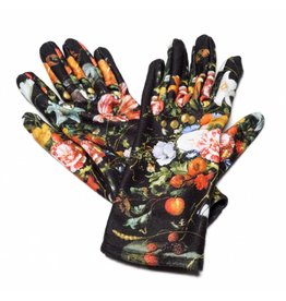 Gloves Vase of Flowers