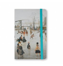 Notebook A6 Ice Scene