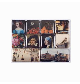 Set of Magnets Highlights of the Mauritshuis