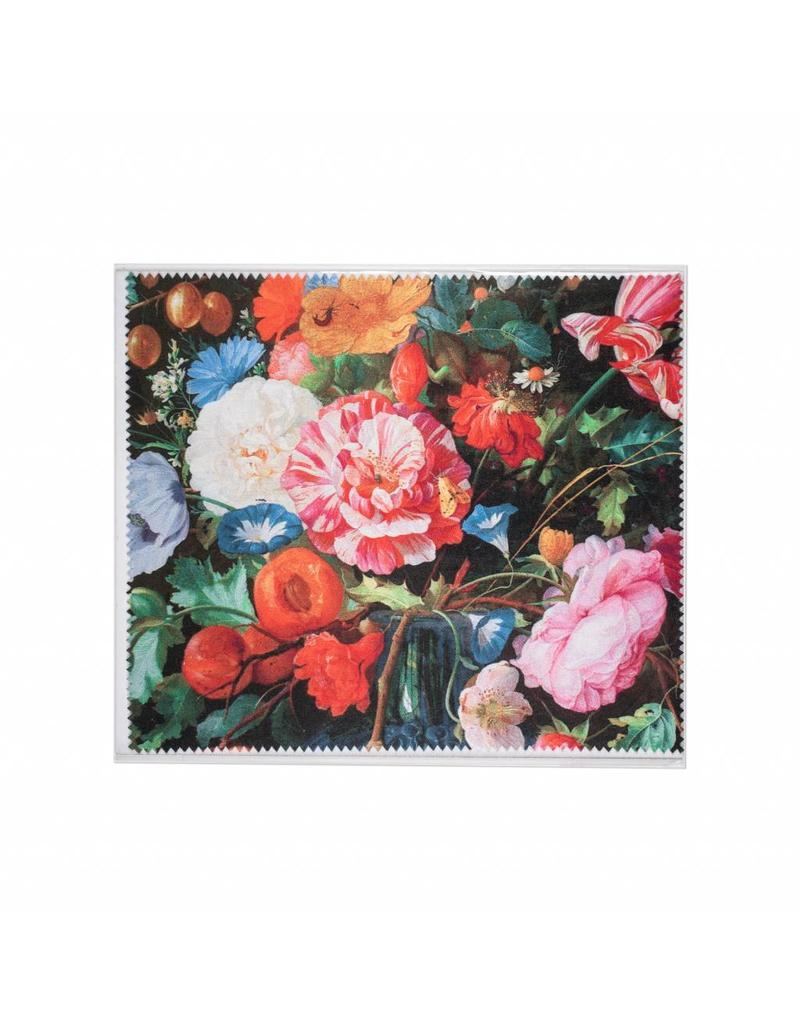 Lens Cloth Vase of Flowers