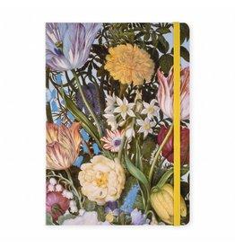 Notitieboek A5 Vaas met Bloemen in een Venster