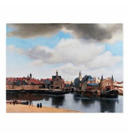 Reproduction View of Delft on Canvas