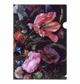A4 Insert Folder Vase of Flowers
