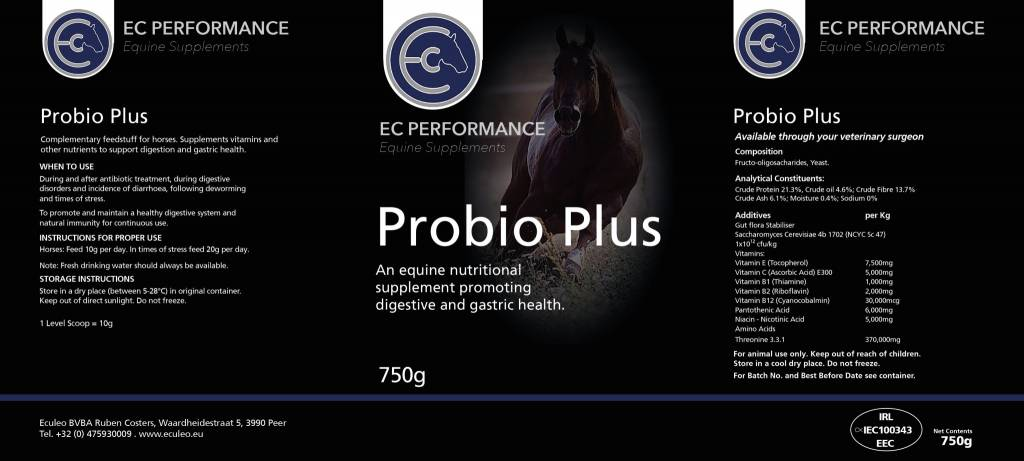 EC Performance Equine Supplements Probio Plus