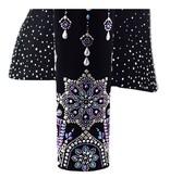 Lisa Nelle Iridescent Noir Showjacket Größe S