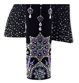 Lisa Nelle Iridescent Noir Showjacket size S