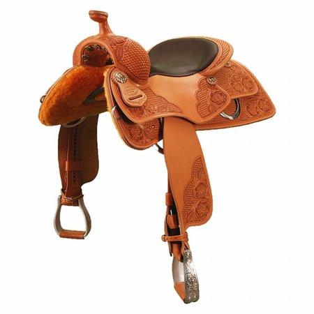 "Jim Taylor Custom saddle Cavalier 16"" heritage serie"